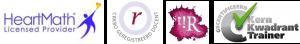 logo's van licenties en certificaten Marijke Gast